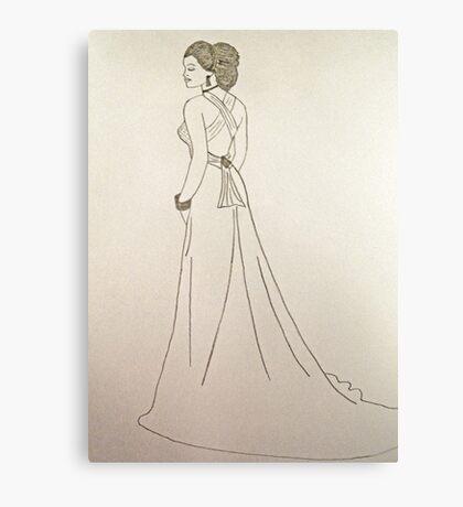Wedding Dress No 4 Canvas Print