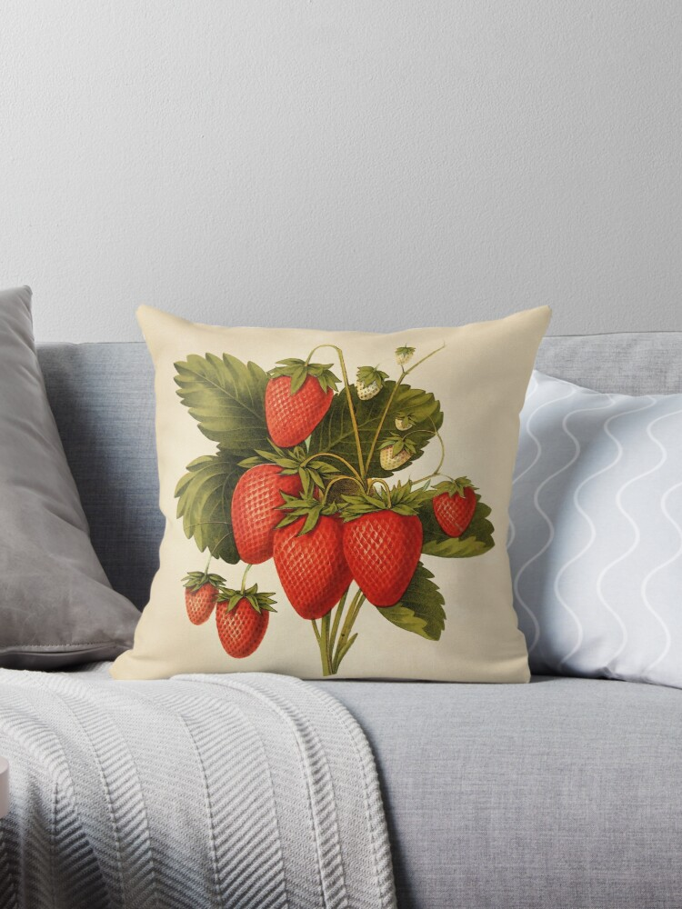 Vintage Strawberries by PatiDesigns