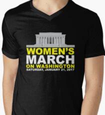 Women's March on Washington Men's V-Neck T-Shirt