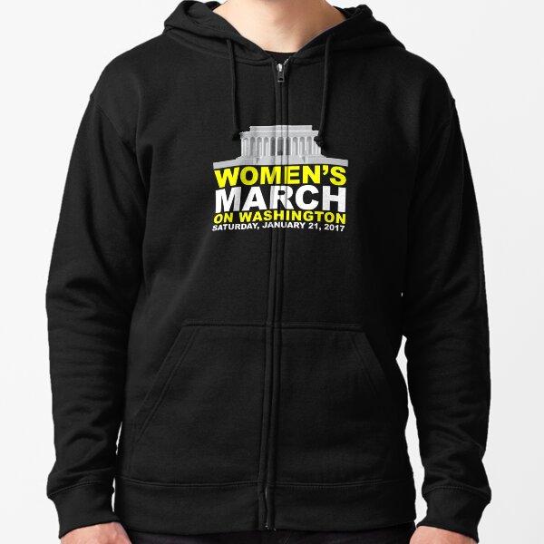 Women's March on Washington Zipped Hoodie
