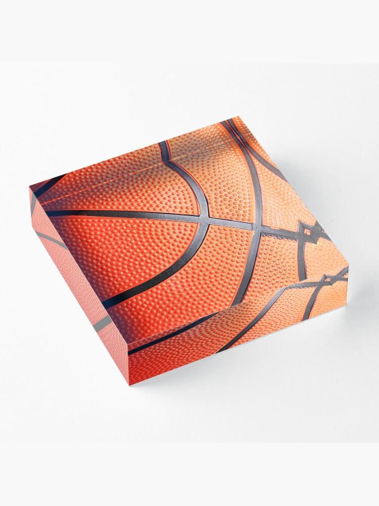 Alternative Ansicht von Basketball Acrylblock