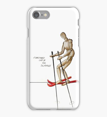 Balance is for Dummies iPhone Case/Skin