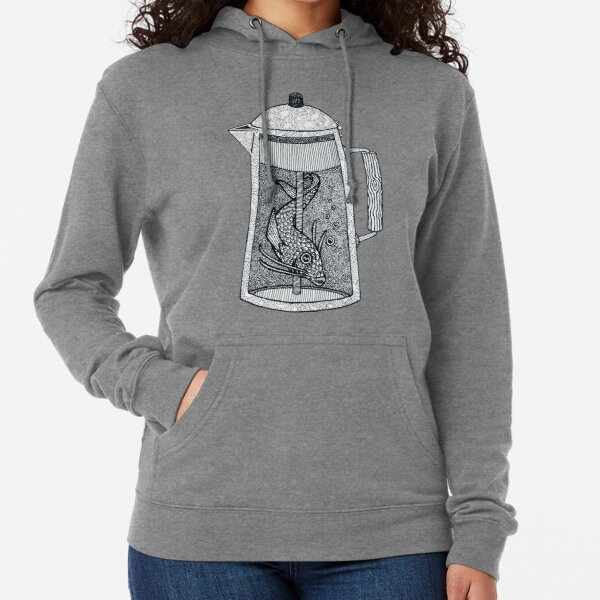 There was a fish in the percolator Lightweight Hoodie
