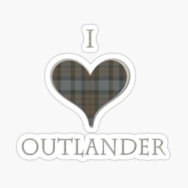 I LOVE OUTLANDER Sticker