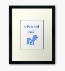 Pony Obsessed Framed Print