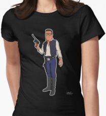 Hank Solo Women's Fitted T-Shirt