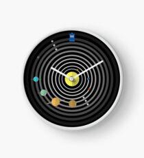 Circular Solar System Clock