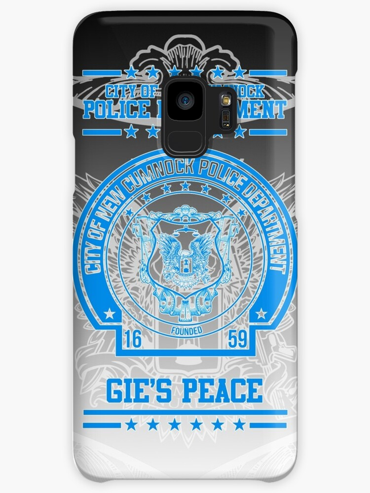 """NCPD """"Gie's Peace"""" Motto Black/Blue by OctoberFifteen"""