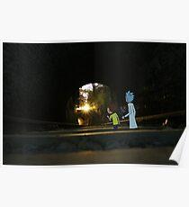 Rick & Morty Urbex Poster