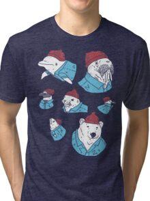 Life Aquatic Tri-blend T-Shirt