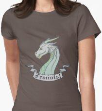 FEMINIST - Light Dragon Women's Fitted T-Shirt