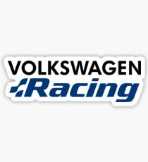 Volkswagen .:Racing Sticker
