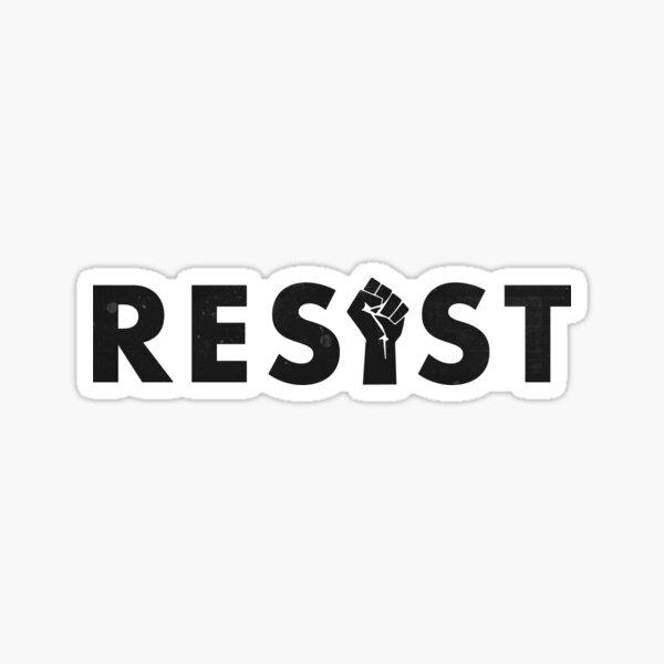 Resist (Fist) Sticker