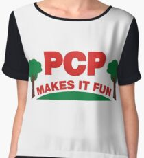 Parks PCP Makes It Fun Chiffon Top