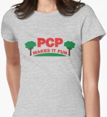 Parks PCP Makes It Fun Women's Fitted T-Shirt