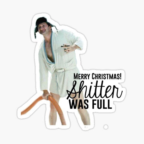 Cousin Eddie: Merry Christmas Sticker
