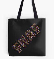 Five Nights at Freddys - Pixel art - FNAF typography Tote Bag