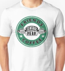 FRIENDS COFFEE CENTRAL PERK Unisex T-Shirt