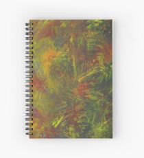 Abstract expressionism Spiral Notebook