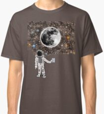 Space Night Lights Classic T-Shirt