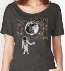 Space Night Lights Women's Relaxed Fit T-Shirt