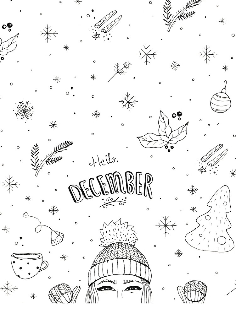 Hello December by mirunasfia