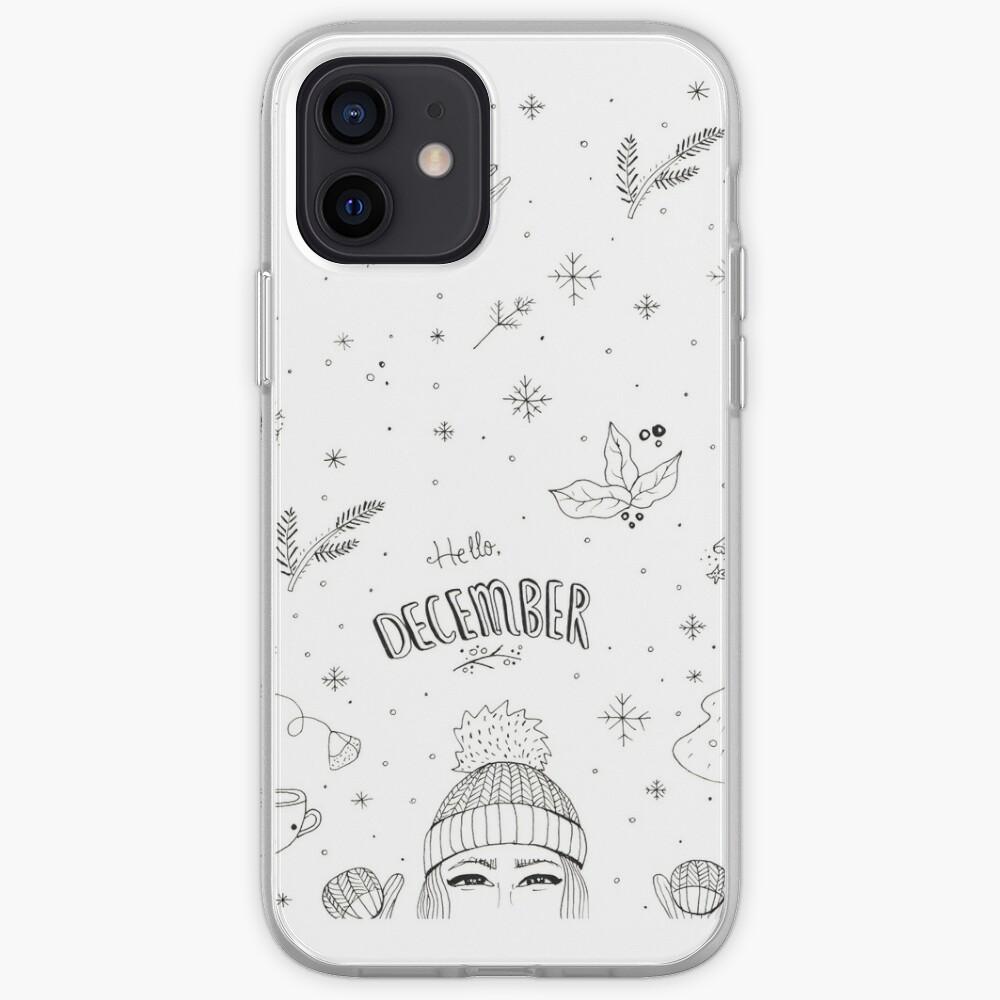 Hello December iPhone Case & Cover