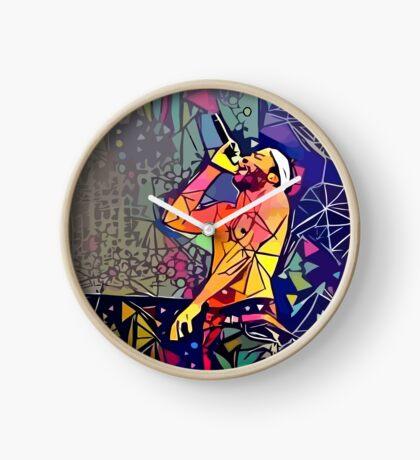 Abstract Childish Gambino Clock