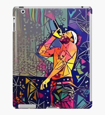 Abstract Childish Gambino iPad Case/Skin