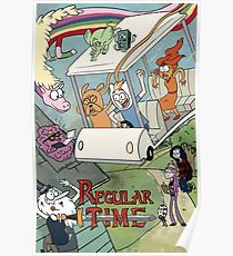 Regular Time Poster