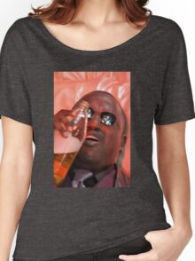 morpheus drinking a 40 Women's Relaxed Fit T-Shirt