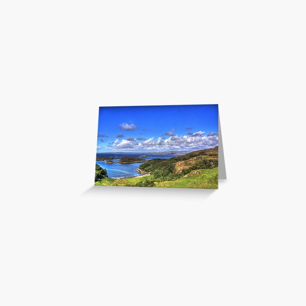 Drumbeg Viewpoint Greeting Card
