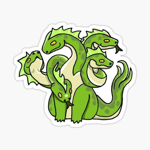 DnD Hydra Sticker