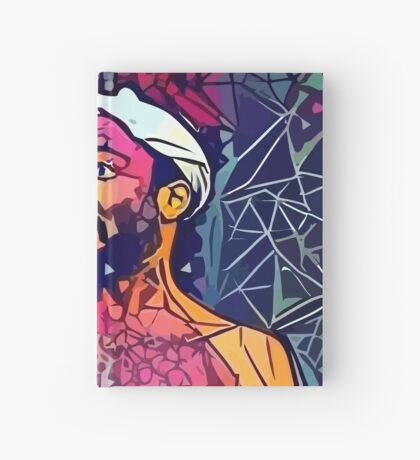 Abstract Singing Gambino Hardcover Journal