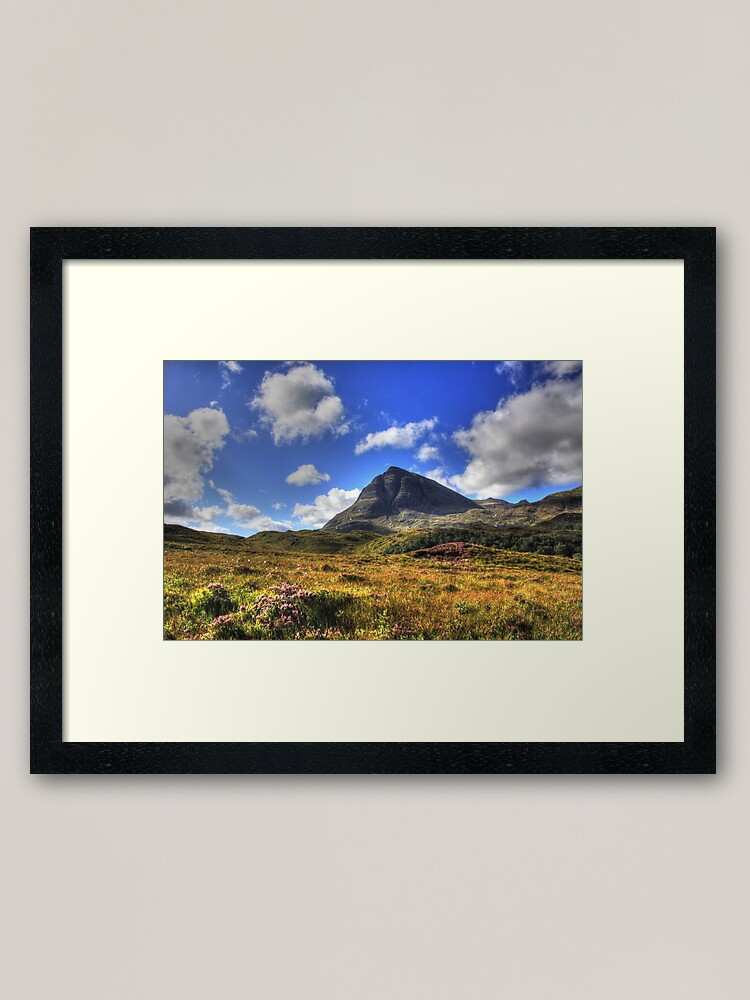 Alternate view of Quinag (Northface View) Framed Art Print