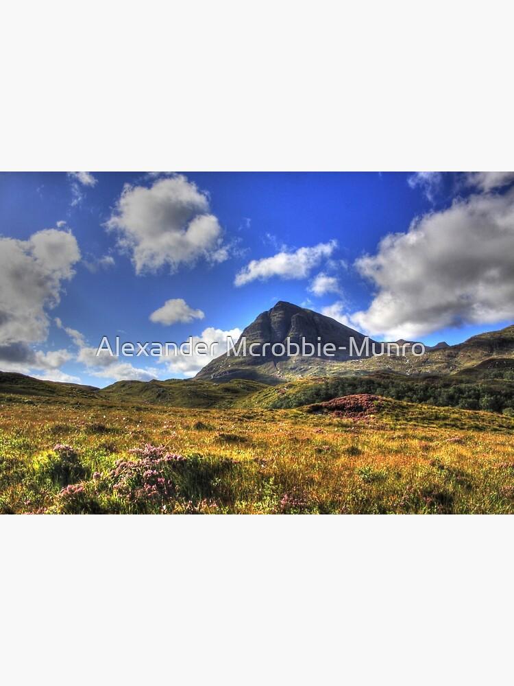 Quinag (Northface View) by Alexanderargyll