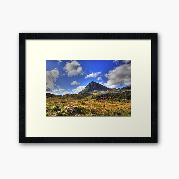 Quinag (Northface View) Framed Art Print