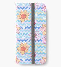 Daffodil Chevron Pattern iPhone Wallet/Case/Skin