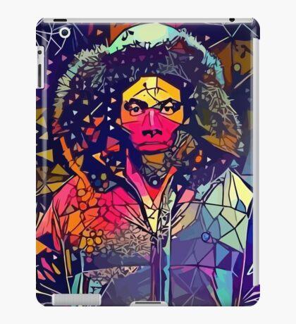Abstract Hooded Gambino iPad Case/Skin