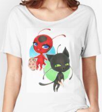 Miraculous! Tikki & Plagg Women's Relaxed Fit T-Shirt