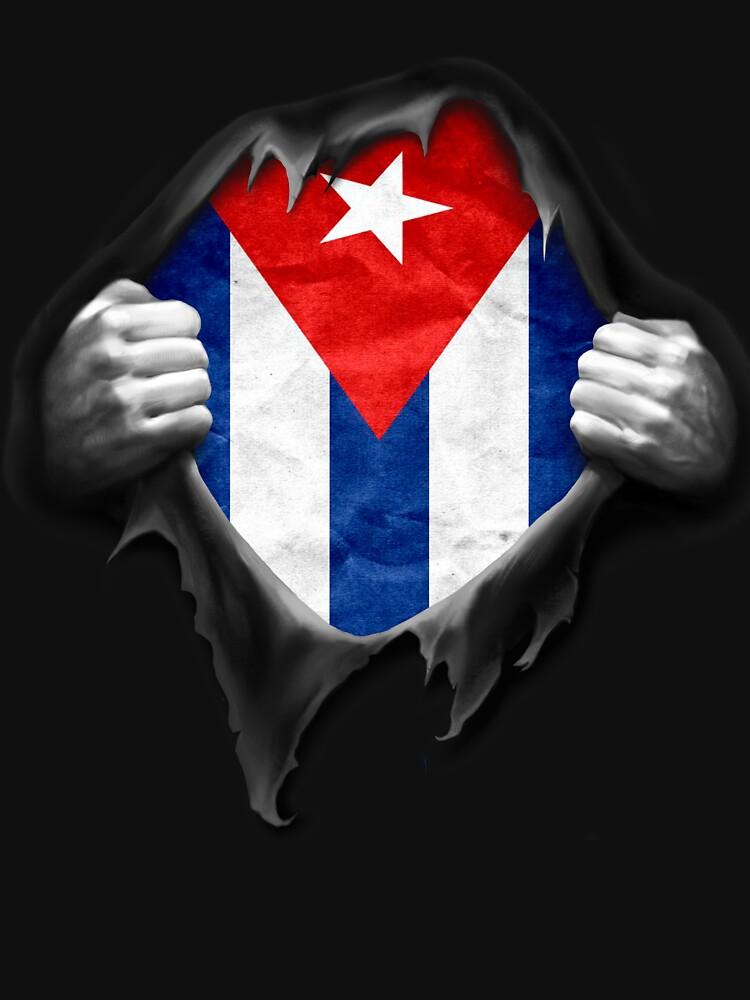 Cuba Flag. Proud Cuban by nikolayjs