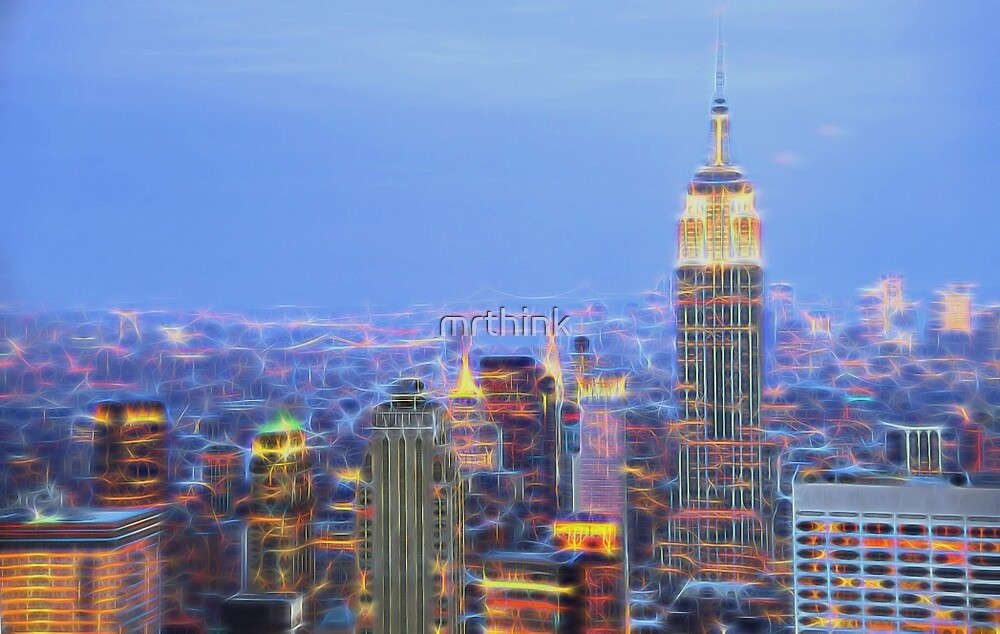 NYC Twinkle by mrthink