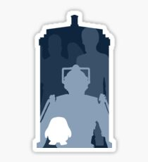 Doctor who cutout TARDIS Sticker