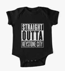 Straight Outta Keystone City One Piece - Short Sleeve
