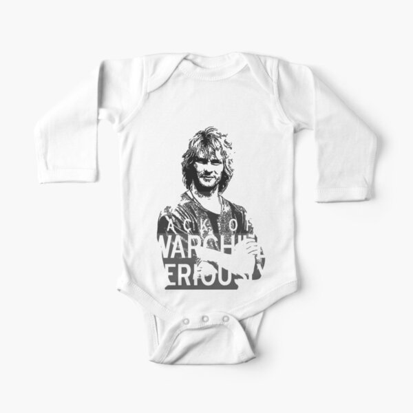 Back off Warchild - SERIOUSLY (dark) Long Sleeve Baby One-Piece