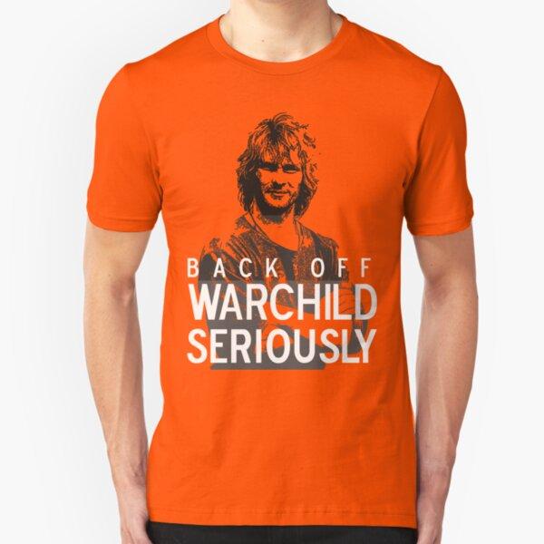 Back off Warchild - SERIOUSLY (dark) Slim Fit T-Shirt