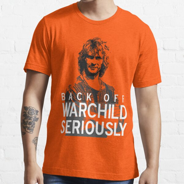 Back off Warchild - SERIOUSLY (dark) Essential T-Shirt