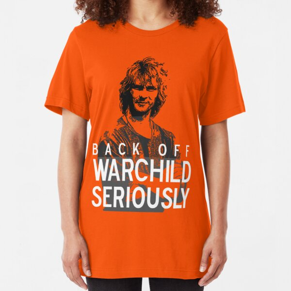 Back off Warchild - SERIOUSLY (dark) Slim Fit T-Shirt