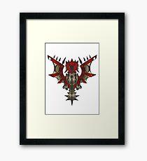Rathalos Emblem Framed Print