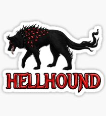 Hellhound Guardian of the Underworld Sticker
